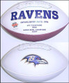 Baltimore Ravens Full Size Logo Football