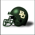 Baylor Bears Schutt Mini Authentic Helmet Matte Green