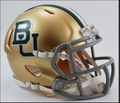 Baylor Riddell Mini Speed Revolution Football Helmet