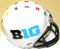 Big 10 Conference Riddell Mini Logo Football Helmet