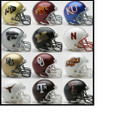 Big 12 Conference 12pc Mini Replica Speed Helmet Set