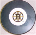 Boston Bruins NHL Logo Puck