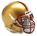 Boston College Eagles Mini Authentic Schutt Helmet