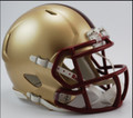 Boston College Ridddell Mini Speed Revolution Football Helmet