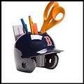 Boston Red Sox Mini Helmet Desk Caddy