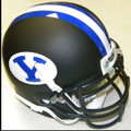 Brigham Young Cougars Mini Authentic Helmet Schutt Black