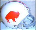 Buffalo Bills 1965-1973 Replica AFL Throwback Z2B Mini Helmet