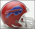 Buffalo Bills 1987-01 Throwback Mini Replica Helmet