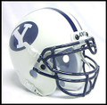 BYU Cougars Mini Authnetic Schutt Helmet