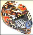 Calgary Flames NHL Full Size Street Extreme Youth Goalie Mask