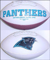 Carolina Panthers Full Size Logo Football 95-11