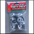 Carolina Panthers Gumball Helmet Party Pack