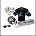 Carolina Panthers NFL Deluxe Youth Uniform Sets