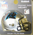 Carolina Panthers NFL Pocket Pro Single Football Helmet