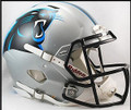 Carolina Panthers Riddell New 2012 NFL Authentic Revolution SPEED Helmet