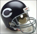 Chicago Bears 1962-73 Throwback Full Size Replica Helmet