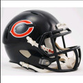 Chicago Bears Mini Speed Football Helmet