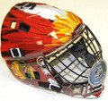 Chicago Blackhawks Full Size Street Extreme Youth Goalie Mask