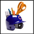 Chicago Cubs Mini Helmet Desk Caddy