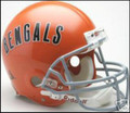 Cincinnati Bengals 1968-79 Throwback Full Side Authentic Helmet