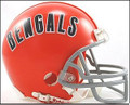 Cincinnati Bengals 1968-79 Throwback Mini Replica Z2B Helmet