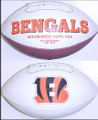 Cincinnati Bengals Full Size Logo Football