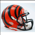 Cincinnati Bengals Mini Speed Football Helmet