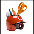 Cincinnati Reds Mini Helmet Desk Caddy