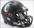 Cincinnati Bearcats Mini Speed Revolutioin Football Helmet