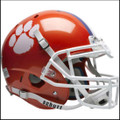 Clemson Tigers Authentic NCAA XP Football Helmet.