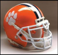 Clemson Tigers Full Size Authentic Schutt Helmet