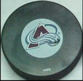 Colorado Avalanche NHL Logo Puck