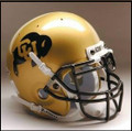 Colorado Buffaloes Full Size Authentic Schutt Helmet