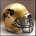 Colorado Buffaloes Mini Authentic Schutt Helmet