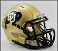 Colorado Riddell Mini Speed Revolution Football Helmet
