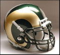 Colorado State Rams Full Size Authentic Schutt Helmet