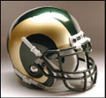 Colorado State Rams Full Size Replica Schutt Helmet