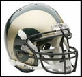 Colorado State Rams Mini Authentic Schutt Helmet