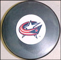 Columbus Blue Jackets NHL Logo Puck