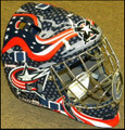 Columbus Blue Jackets YOUTH Size Goalie Mask