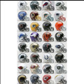 Complete NFL 32pc Set of Mini Replica Helmets