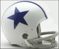 Dallas Cowboys 1960-63 Throwback Mini Replica Helmet
