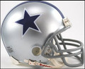 Dallas Cowboys 64-66 Throwback Mini Replica Z2B Helmet