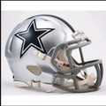 Dallas Cowboys Mini Speed Football Helmet