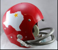 Dallas Texans Full Size TK Suspension Throwback Helmet 1960-62
