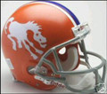 Denver Broncos 1966 Throwback Full Size Authentic Helmet