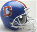 Denver Broncos 1975-96 Throwback Full Size Authentic Helmet