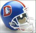 Denver Broncos 1975-96 Throwback Full Size Replica Helmet