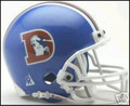 Denver Broncos 1975-96 Throwback Mini Replica Helmet