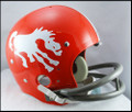 Denver Broncos Full Size TK Suspension Throwback Helmet 1962-65